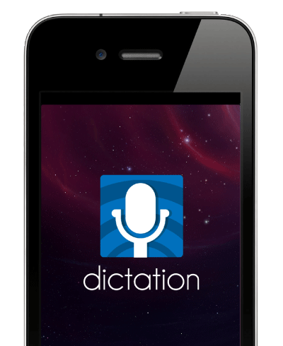 IPHONE DICTATION